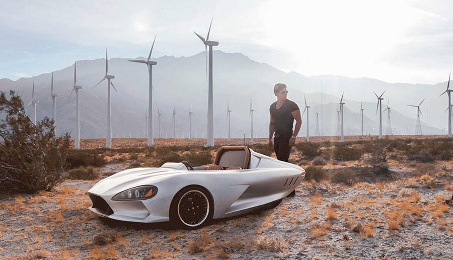 Ampere-Motor-Elektroauto-Roadster