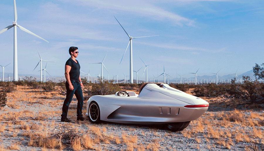 Ampere-Motor-Elektroauto