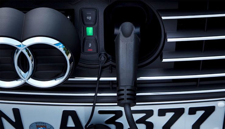 Audi-Elektroauto-Batteriefertigung