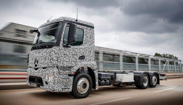 Daimler Trucks: Elektro-Actros wird noch dieses Jahr vorgestellt