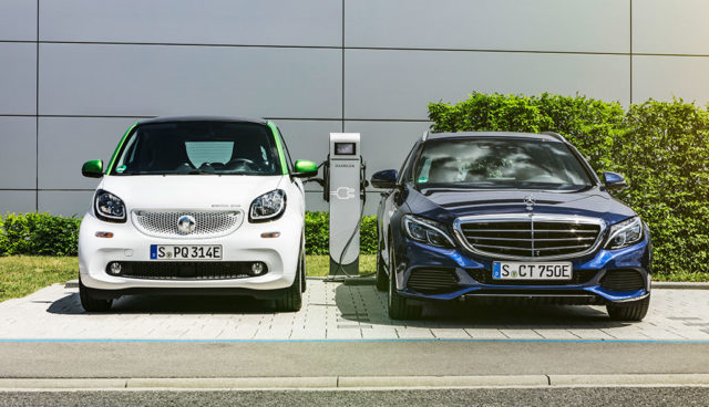 Innogy: 1500 Elektroauto-Ladepunkte für Daimler