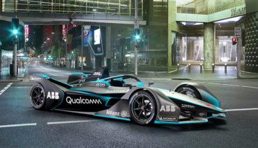 Formel-E-GEN2-Elektroauto-Rennwagen
