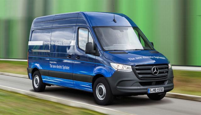 Mercedes gibt Ausblick auf Elektro-Sprinter