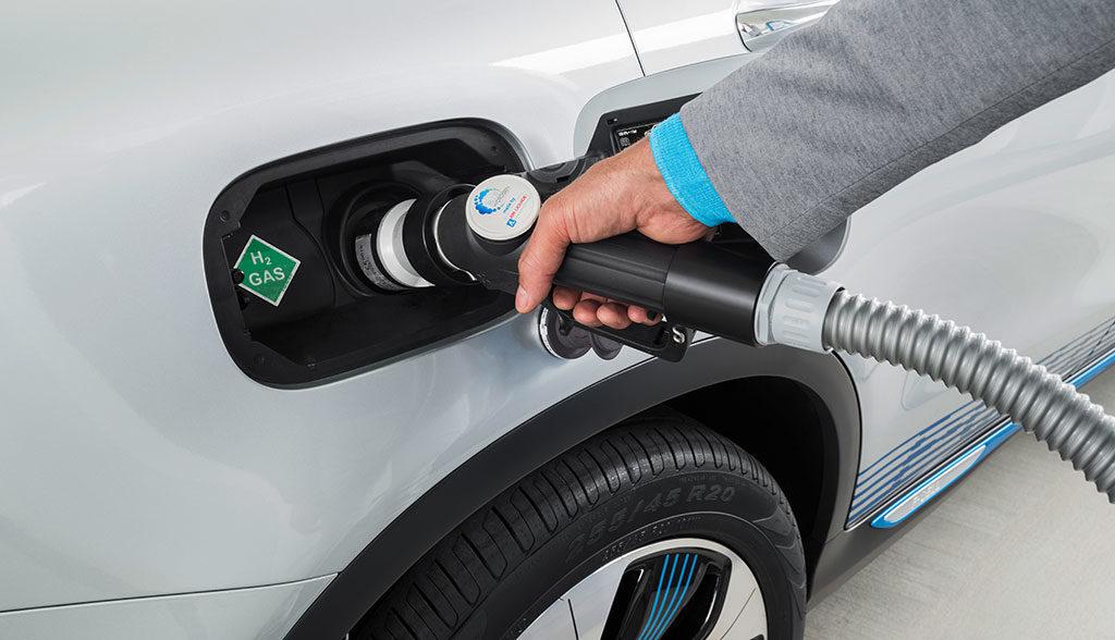 Mercedes-Wasserstoff-Elektroauto