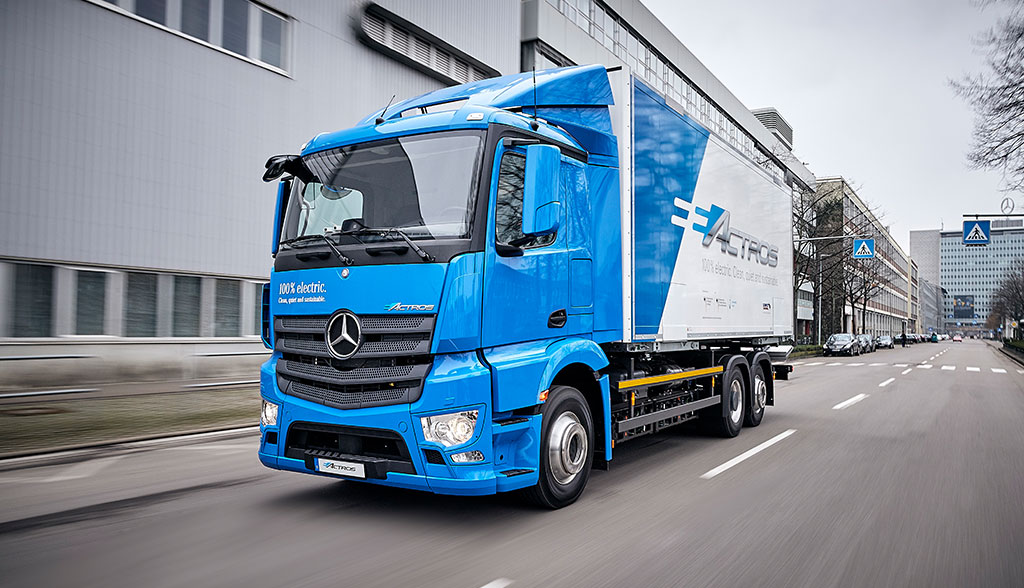 Daimler will Elektro-Lastwagen ab 2021 in Serie bauen