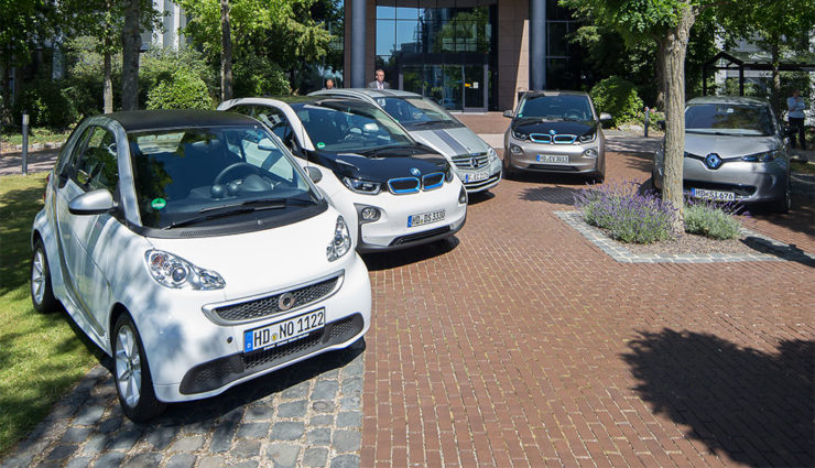 SAP will 5000 Elektrofahrzeuge bis 2020