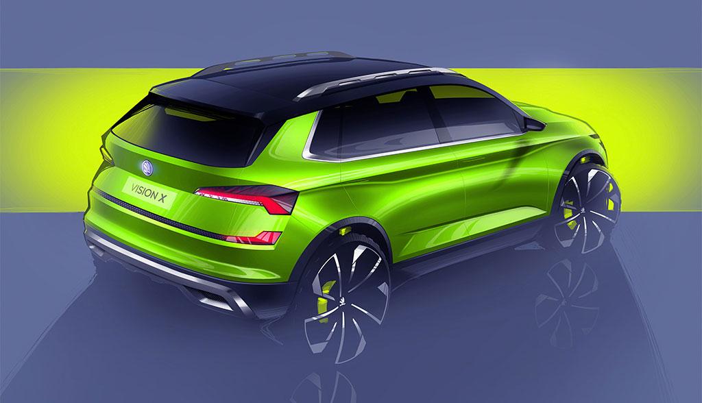 Skoda-Vision-X-Hybridauto
