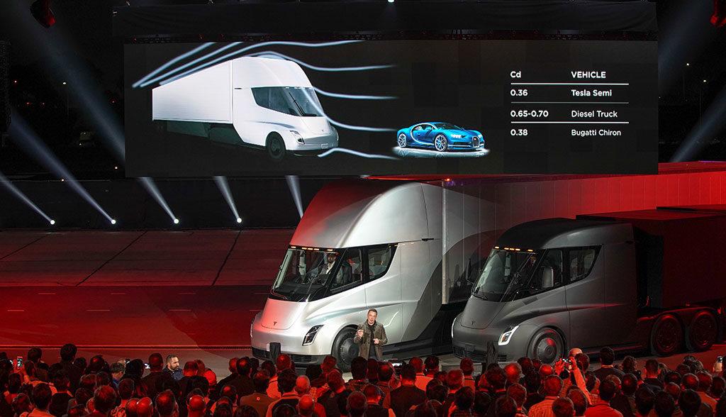 Tesla-Lkw-Produktion