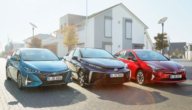 Toyota verkauft 2017 über 1,5 Millionen elektrifizierte Autos