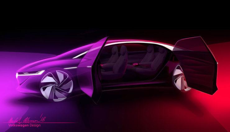 VW präsentiert ID Vizzion in Genf