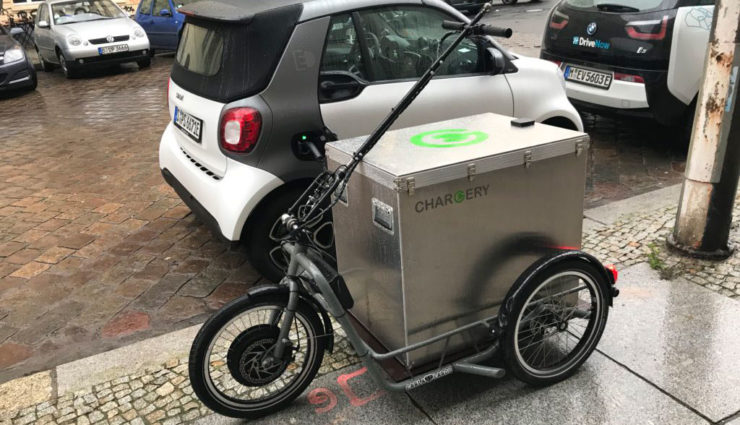 chargery startup bietet mobile elektroauto aufladung. Black Bedroom Furniture Sets. Home Design Ideas