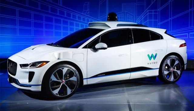 Jaguar und Waymo bauen Selbstfahr-Elektroautos