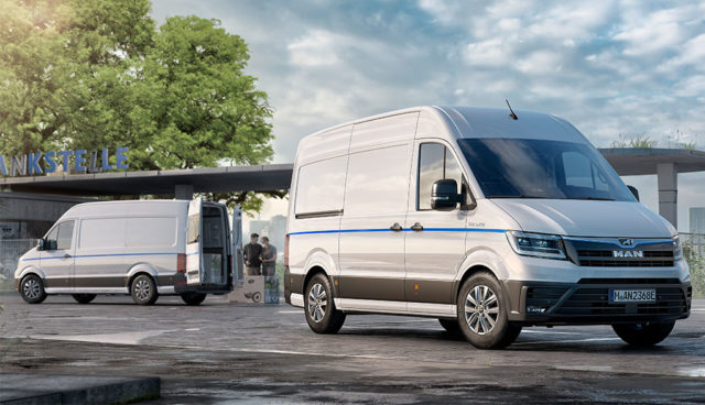 MAN: Elektro-Transporter eTGE kommt im April