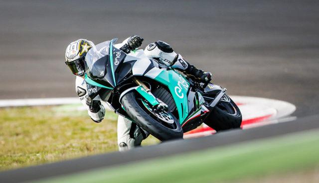E-Motorrad Ego Corsa feiert Rennstrecken-Debüt