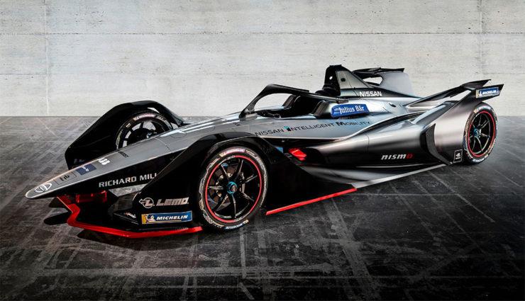 NIssan-Formel-E-GEN2-Elektroauto-Rennwagen