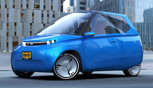 Noah: Hocheffizientes Elektroauto für die Stadt und Carsharing