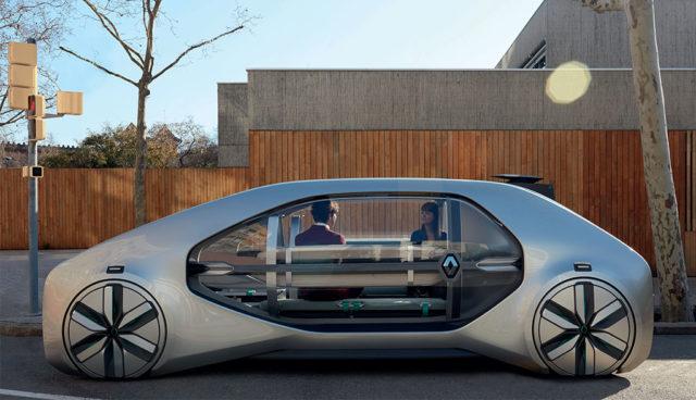 Renault zeigt Elektroauto-Robotaxi EZ-GO