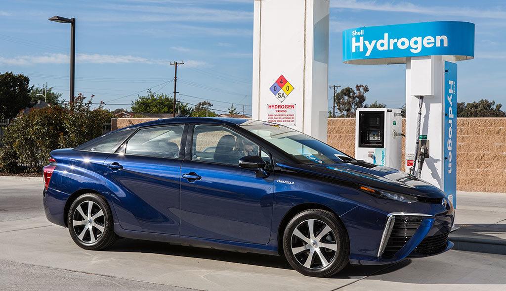 Wasserstoff-Elektroauto-Verkaufszahlen