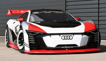 Audi-Elektroauto-Leichtbau