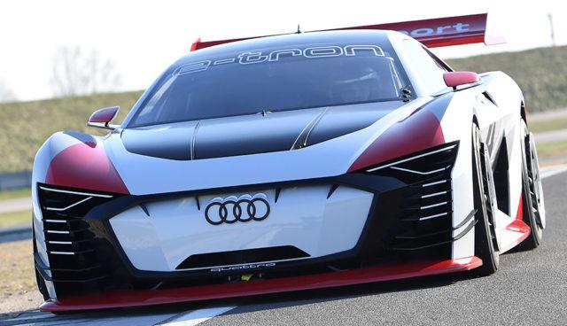 Audi baut Elektroauto-Renntaxi e-tron Vision Gran Turismo