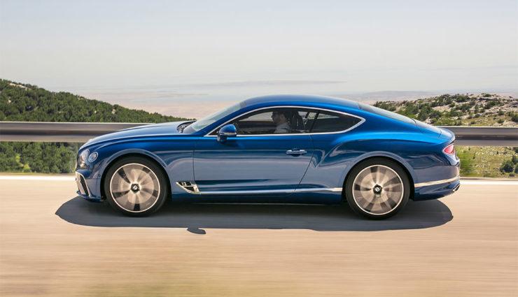 Bentley: Nächster Continental GT wird elektrifiziert