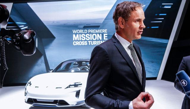 Porsche-Chef: Massive Investitionen in Elektromobilität unverzichtbar