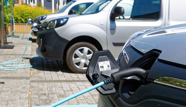 Elektroauto-Transport-Foerderung