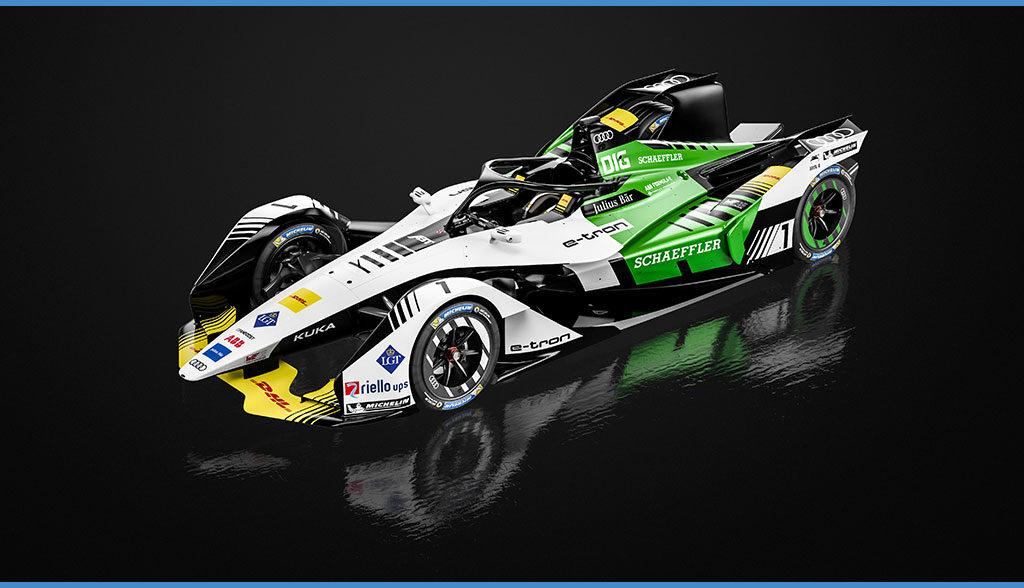 Formel-E-Elektroauto