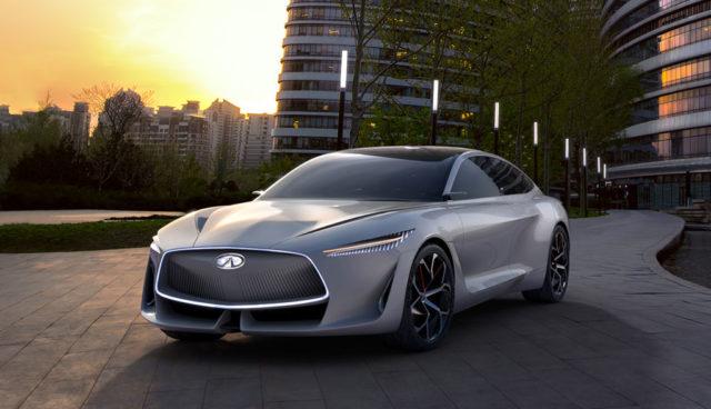 """Infiniti: Limousine """"Q"""" wird erstes von fünf neuen Elektroautos"""