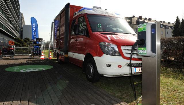 Kreisel Electric baut Elektro-Feuerwehrauto