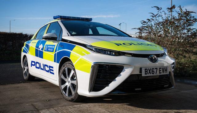 Londons Polizei setzt auf Wasserstoff-Elektroautos