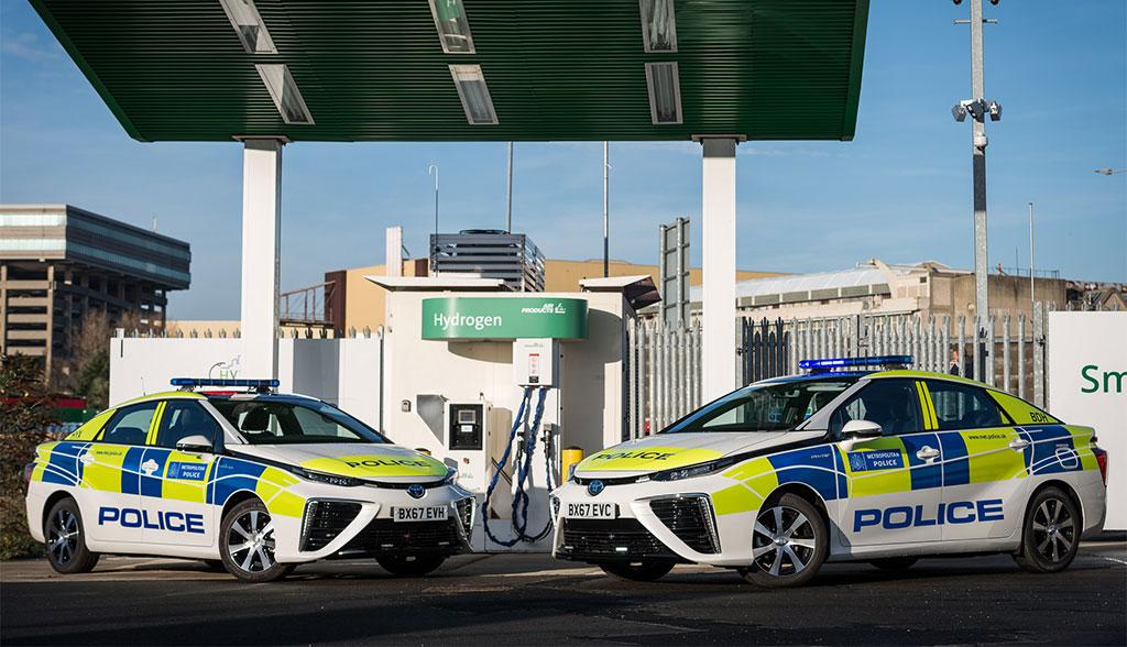 London-Wasserstoff-Elektroauto-Polizei