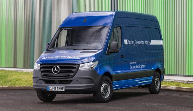 Mercedes: eSprinter kommt mit zwei Batterie-Optionen