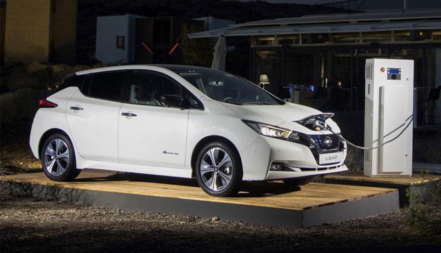 Neuer Nissan LEAF mit Schnelllade-Problemen