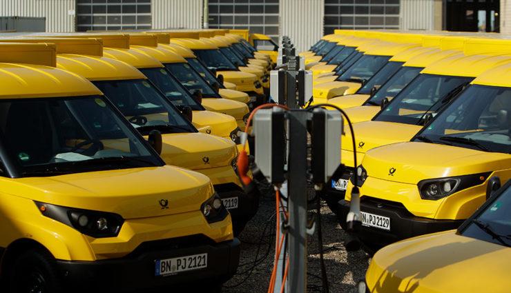 Deutsche Post: StreetScooter im Fokus