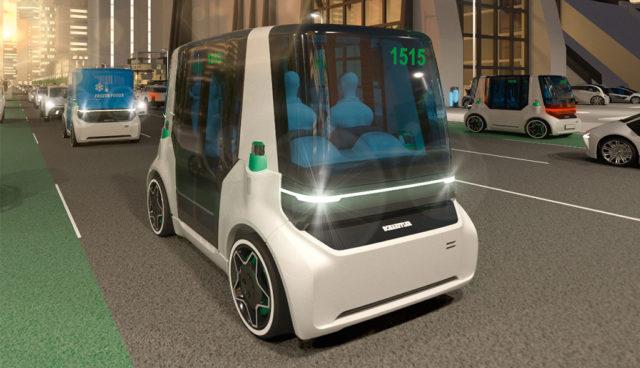 Schaeffler zeigt Selbstfahr-Elektroauto Mover