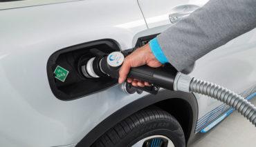 Shell-Wasserstoff-Elektroauto