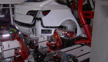 Tesla-Model-3-Produktion-Fertigung-Video