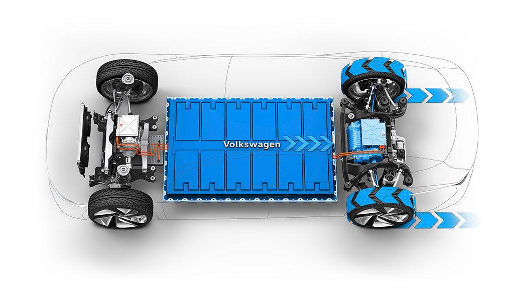 VW-Elektroauto-Batteriezellfertigung