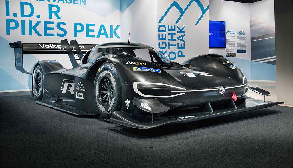 Elektro-Sportwagen: Volkswagens ID R Pikes Peak kommt mit 500 kW