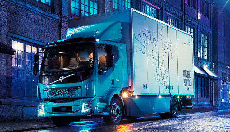 Elektromobilität: E-Lkw von Volvo Trucks im Einsatz
