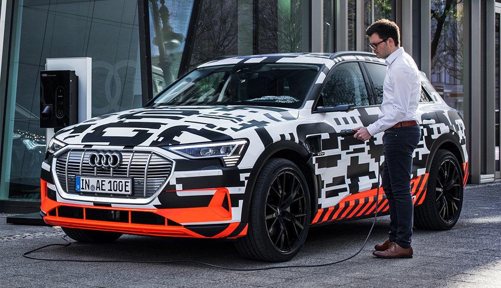"""5be332b2858263 Audi strebt bei Elektroautos """"Halbierung der aktuellen Ladezeiten"""" an"""