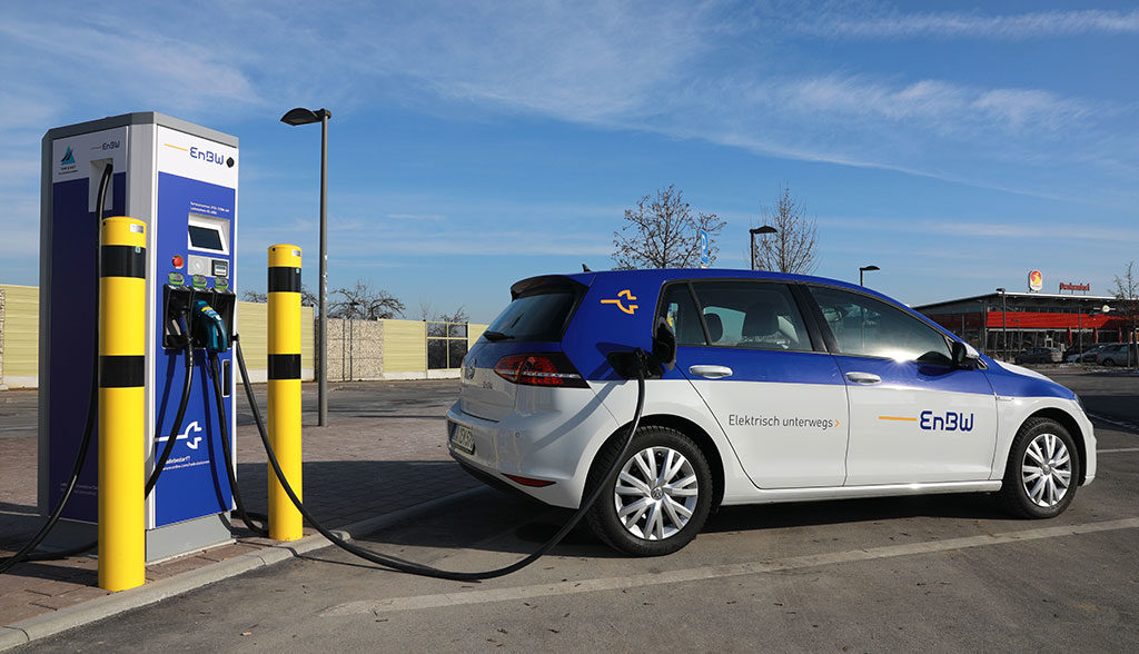 EnBW-Elektroauto-Schnellladestationen