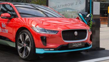 Heathrow-Elektroauto-Jaguar-I-Pace