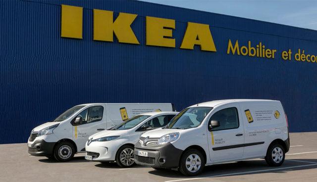 Renault und IKEA bauen Elektroauto-Carsharing in Frankreich auf