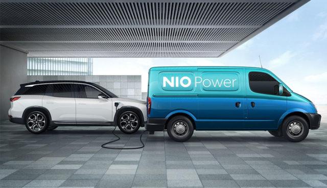NIO-Elektroauto-Powermobiles