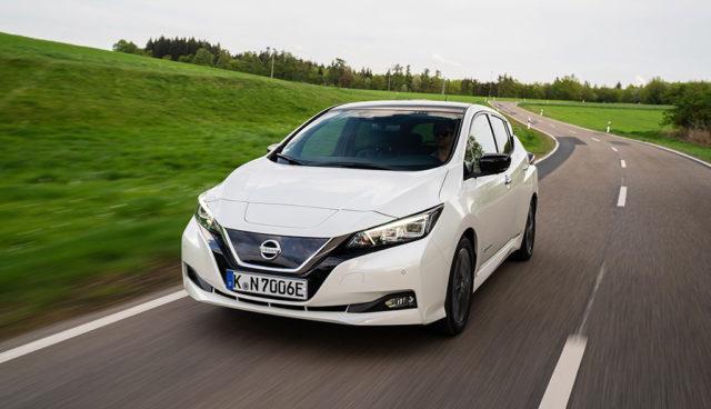 Nissan steigert Elektroauto-Absatz um zehn Prozent