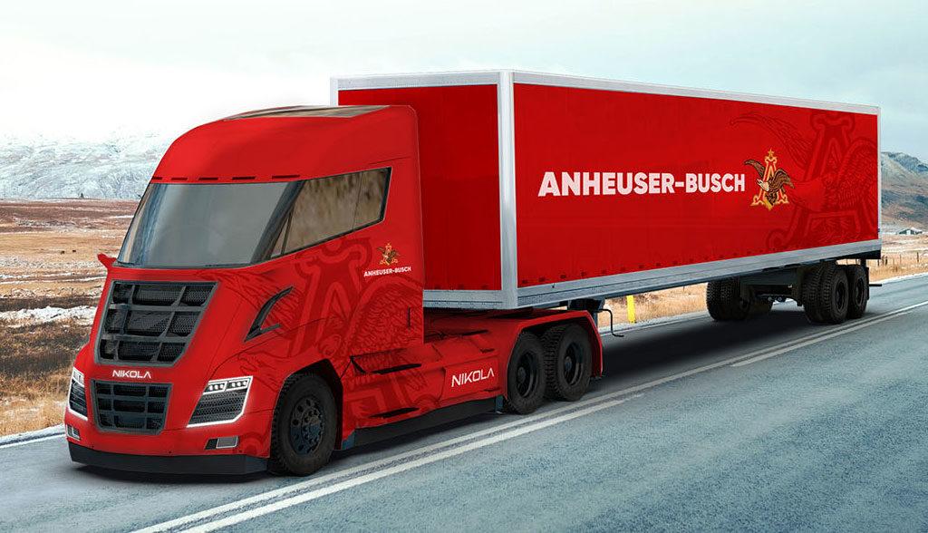Nikola-Motor-Anheuser-Busch-Elektro-Lkw