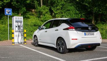 Nissan-Elektroauto-Ladeinfrastruktur