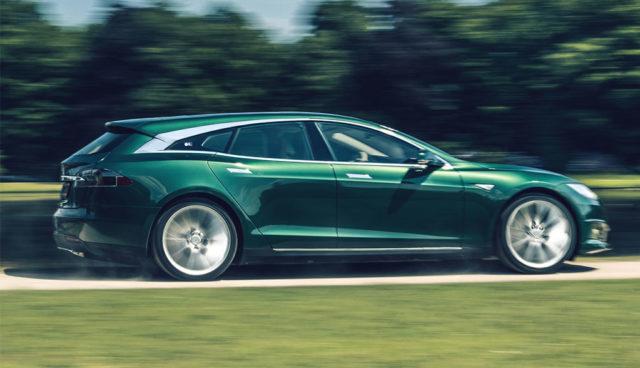 Automanufaktur RemetzCar bietet Tesla Model S als Kombi an